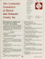 Community Foundation of Muncie and Delaware County 1991-08 newsletter