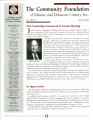 Community Foundation of Muncie and Delaware County 2003, Vol. 13, No. 02 newsletter