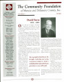 Community Foundation of Muncie and Delaware County 2003, Vol. 13, No. 03 newsletter