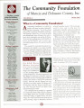 Community Foundation of Muncie and Delaware County 2003, Vol. 13, No. 04 newsletter