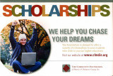 Community Foundation of Muncie and Delaware County postcard for scholarships