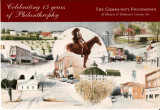Community Foundation of Muncie and Delaware County postcard for 15 years of philanthropy