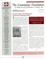 Community Foundation of Muncie and Delaware County 2006, Vol. 15, No. 02 newsletter