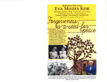Eva Mozes Kor convocation flyer