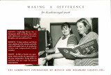 Making a difference : for disadvantaged youth