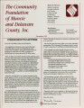 Community Foundation of Muncie and Delaware County 1992-12 newsletter