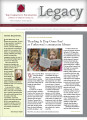 Community Foundation of Muncie and Delaware County 2009, Vol. 19, No. 01 newsletter