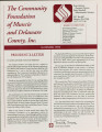 Community Foundation of Muncie and Delaware County 1993-02 newsletter