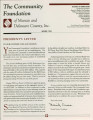 Community Foundation of Muncie and Delaware County 1994-04 newsletter