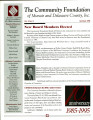 Community Foundation of Muncie and Delaware County 1995, Vol. 10, No. 02 newsletter
