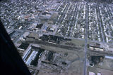 Muncie, Indiana 18th and Hackley Sts. aerial view