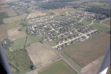Muncie, Indiana Moore and Everett Rds. aerial view