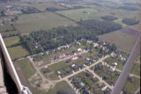 Muncie, Indiana Thornburg Dr. and Timothy Way aerial view