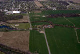 Muncie, Indiana Butterfield Road aerial view