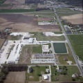 Daleville, Indiana State Road 67 and County Road S. 900 W. aerial view