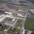 Daleville, Indiana Commerce Road aerial view