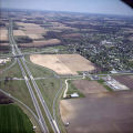 Daleville, Indiana Interstate 69, State Roads 32 and 67 aerial view