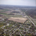 Daleville, Indiana and Chesterfield, Indiana aerial view