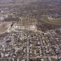 Muncie, Indiana Delaware County Fairgrounds aerial view