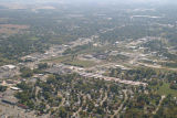 Muncie, Indiana Granville Ave. aerial view