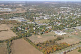 Muncie, Indiana 29th and Beacon Sts. aerial view