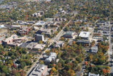 Muncie, Indiana Ball State University aerial view