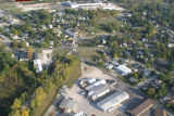 Muncie, Indiana Centennial and Granville Aves. aerial view