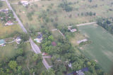Hartford City, Indiana Blackford Gofl Club aerial view