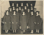 1951 Center School graduating class