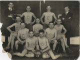 1924 Center School Zouaves boys basketball team