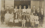 1925-26 Center School eighth grade class