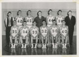 1963-1964 Center School boys basketball team