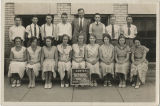 Center School E. K. Keesling and the class of 1933