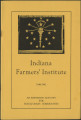 Indiana farmers' Institute schedule, 1940-1941