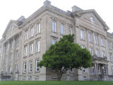 Clay County Courthouse, Brazil, Indiana - Side 3/4 view