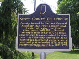 Scott County Courthouse, Scottsburg, Indiana