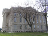 Dearborn County Courthouse, Lawrenceburg, Indiana - Side view