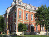Adams County Courthouse, Decatur, Indiana - Side 3/4 view