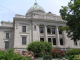 Monroe County Courthouse, Bloomington, Indiana