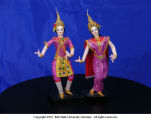 Thai dancing dolls