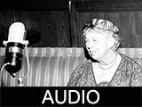 Eleanor Roosevelt radio address at Ball State Teachers College
