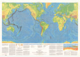 This dynamic planet : world map of volcanoes, earthquakes, impact craters, and plate tectonics