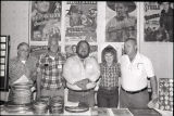 John Leonard, Carl Oliver, Mr. and Mrs. Danny Love, and Joe Fair