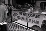 Western Film Fair sign