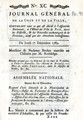 Journal Général de la cour … [General Journal of the court and the city. No. 90, 102]