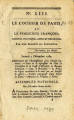 Courier de Paris … [Messenger of Paris, or the French publicist; Politcal, Free, and Impartial...