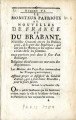 Moniteur patriote ou Nouvelles … [The patriotic Monitor or News of France and the Brabant....
