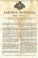 Lettres-patentes du roi … [Letters patent of the king, on the decree of the National Assembly,...