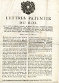 Lettres patentes du roi … [Letters patent of the king, on the decree of the National Assembly,...