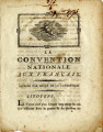 La Convention nationale aux Français [The National Convention to the French]